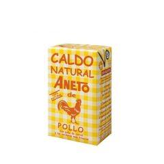 ANETO 100 % Natural Chicken Broth 1 L/33.83 Fl.Oz