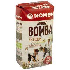 NOMEN Bomba Rice from Ebro Delta, Extra Quality