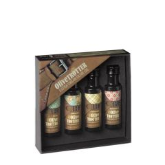Casas de Hualdo Olive Trotter 4x assortment Extra Virgin olive oil 0.84 fl oz (25 ml)