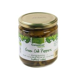 Campomar Nature Organic Green Chili Peppers 350 g. (12.34oz)