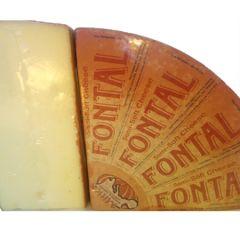 Fontal Cheese Quarters Mitica, Cow's Milk (Lombardia) 6#