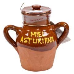 Chestnut Honey in Ceramic Crock (Asturias, Spain) 8/500g