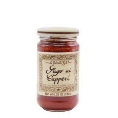 La Favorita Tomato Sauce w/ Capers (Sugo al Capperi) 180g (6.35 Oz)