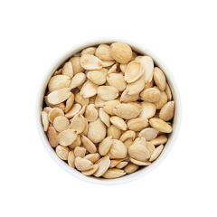 Blanched Marcona almonds fried in Organic E.V.O.O, Caliber 14/16