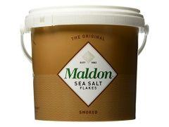 Maldon Smoked Sea Salt Bucket 1.5 Kg (3.3 lb)
