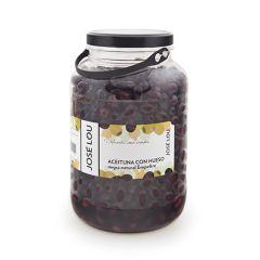 Jose Lou Black Empeltre Olives (200/220) 2.5 Kg (5.5 Lb)