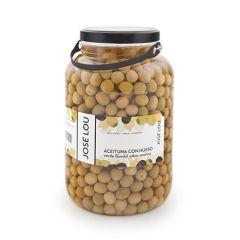 Jose Lou Manzanilla Olives Jumbo (200/220) 2.5 Kg  (5.51 Lb)