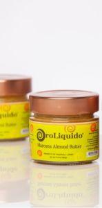 OroLiquido Marcona Almond Butter in Glass Jar