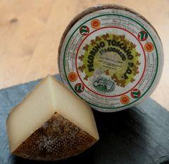 Pecorino Toscano DOP Fresh Semi-firm sheep?s milk cheese