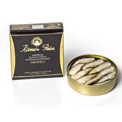 Ramon Pena Gold Sardines in Olive Oil w/Padron Peppers 130g (4.6 Oz)