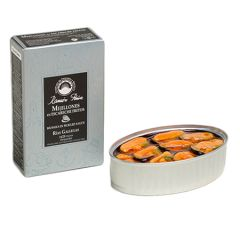 Ramon Pena Silver Mussels in Pickled Sauce (16/20) 15x110g (3.88 Oz)
