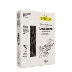 Spinosi Tagliolini Egg Pasta with Squid Ink 250 g (8.8 Oz)