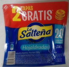 LA SALTENA Tapas superpack horno Hojaldre 550g (20 units)
