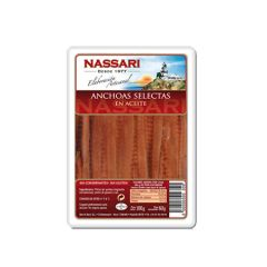 NASSARI Anchovies from Cantabric first grade 60g (2.12 Oz)