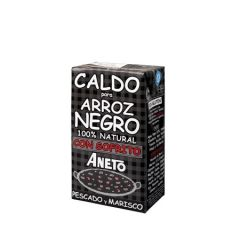ANETO 100% Natural Cooking Base for Squid Ink Paella 1 L/33.83 Fl.Oz