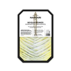 Nassari Gourmet Boquerones (Marinated Anchovies) in EVOO 250 g (8.81 g).