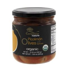 Campomar Nature Organic Picolimon Olives KOSHER