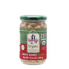 Luengo Organic White Kidney Beans 300g (10.6 Oz.)