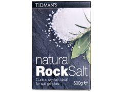 Maldon Tidman's Natural Rock Salt. Packs 500 gr. (17.63 Oz)