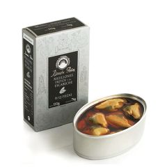 Ramon Pena Silver Mussels in Pickled Sauce (8/12) 15x110g ( 3.88 Oz)