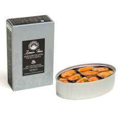 Ramon Pena Silver Spicy Mussels with Garlic and Chili D.O.P.(16-20) 3.88 oz (110 g)