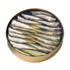 Ramon Pena Silver Toasted small sardines in Olive Oil (40/50) 265g (9.35Oz)