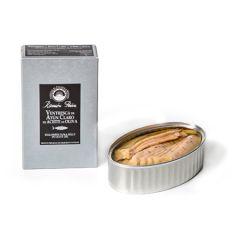Ramon Pena Silver Yellowfin Tuna (Atun Claro) belly in Olive Oil 110g (3.88 Oz)